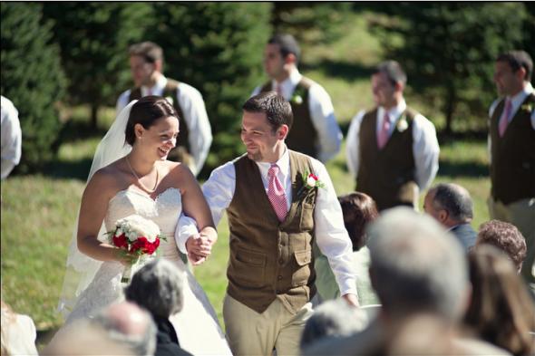 Outdoor Rustic Style Wedding