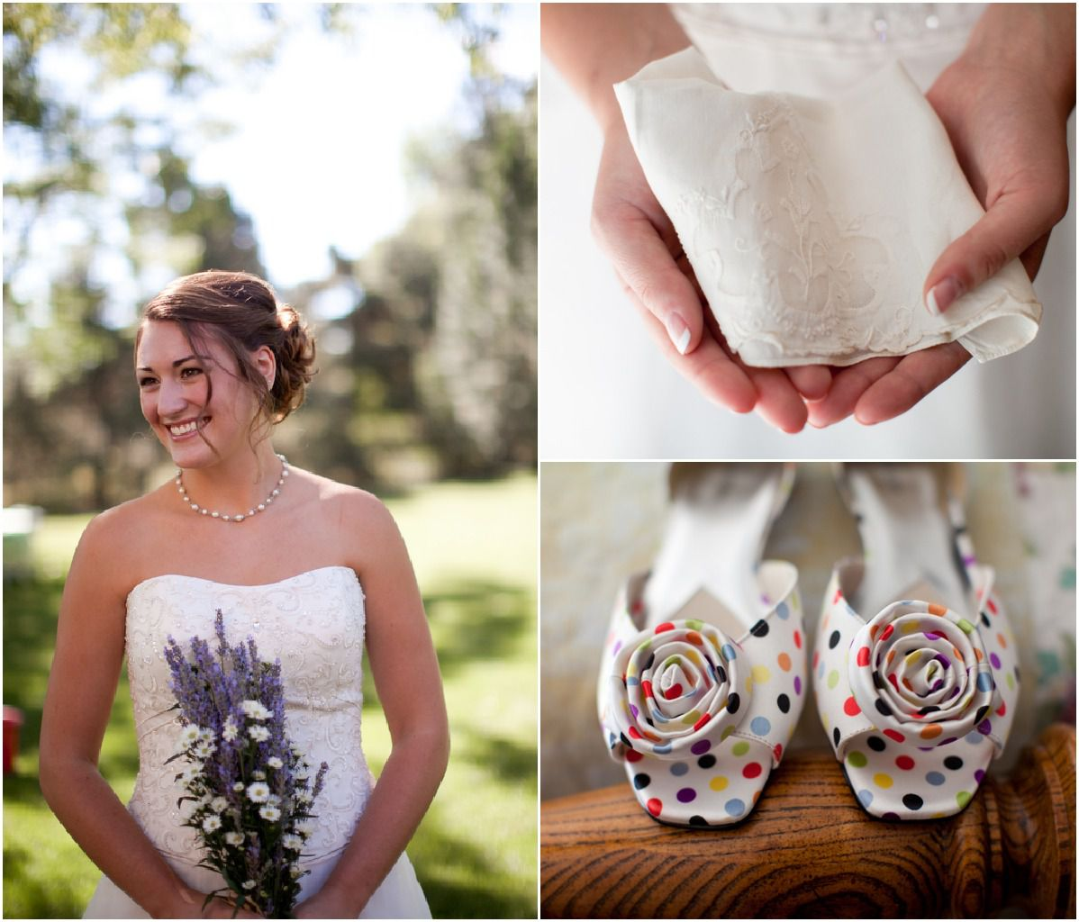 Rustic Chic Wedding Shoes: Colorado Backyard Wedding