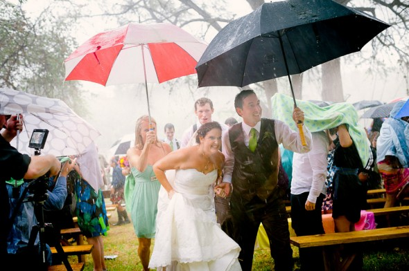 Getting rained out: Pro or Con for a Fall wedding?