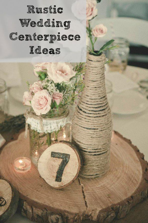 Awesome Rustic Wedding Centerpieces Part - 9: Rustic Wedding Chic