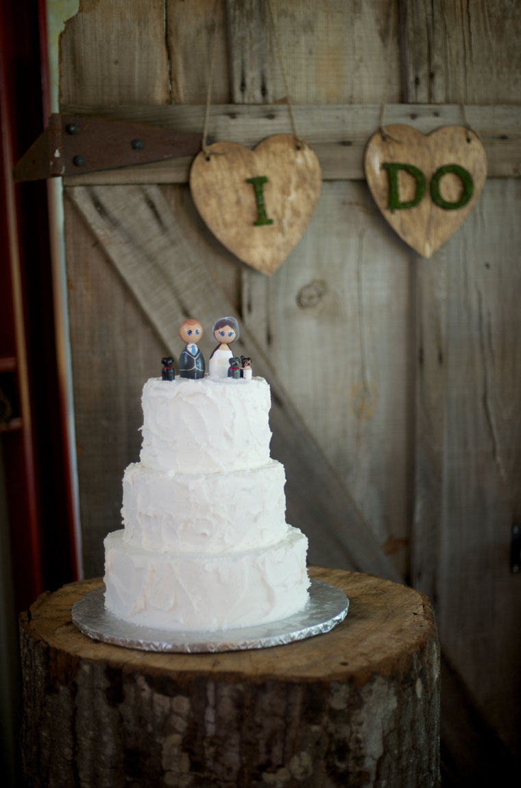 Southern Country Farm Wedding Susanna Brian Rustic