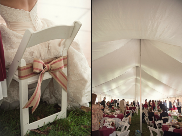 Tented Farm Wedding