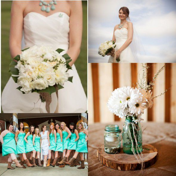 Turquoise Wedding Color