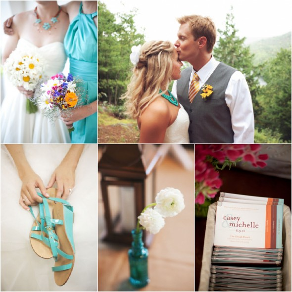 Turquoise Wedding Theme
