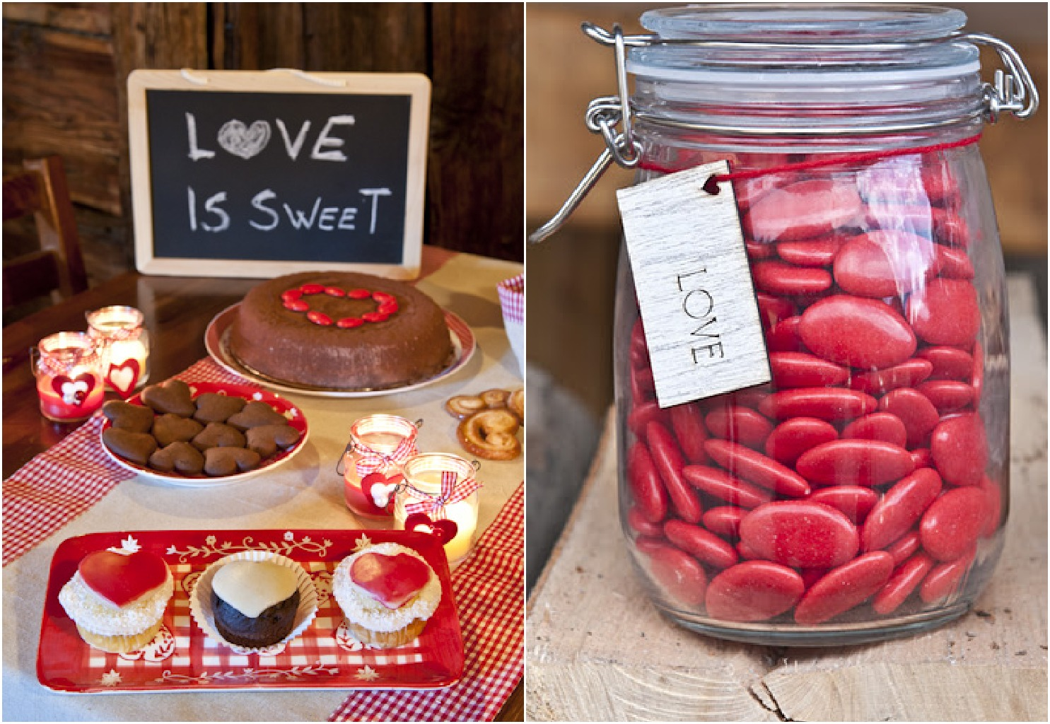 Wedding Day Ideas: Inspiration For A Red Themed Wedding
