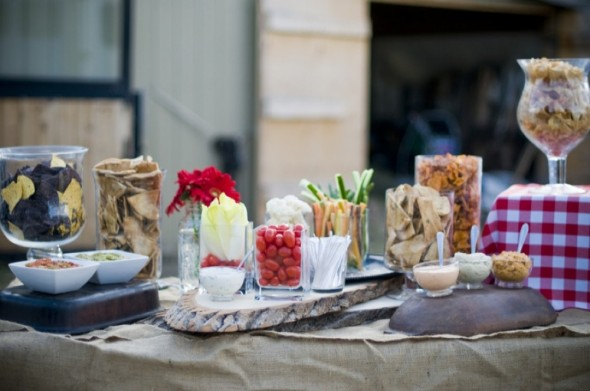Western Style Wedding Food Ideas