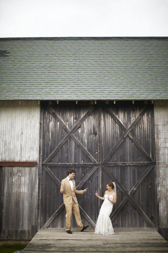 Lons Island New York Barn Wedding