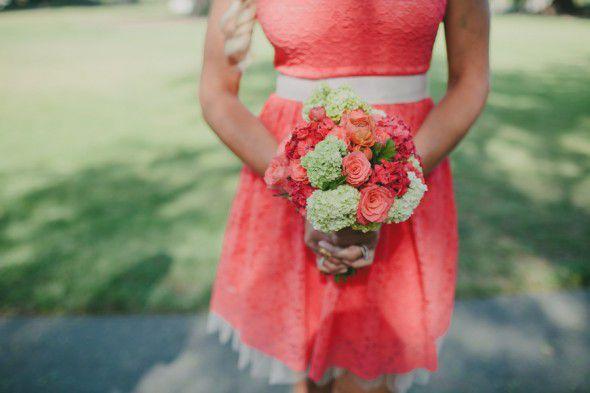 Romantic Bridesmaid Dress