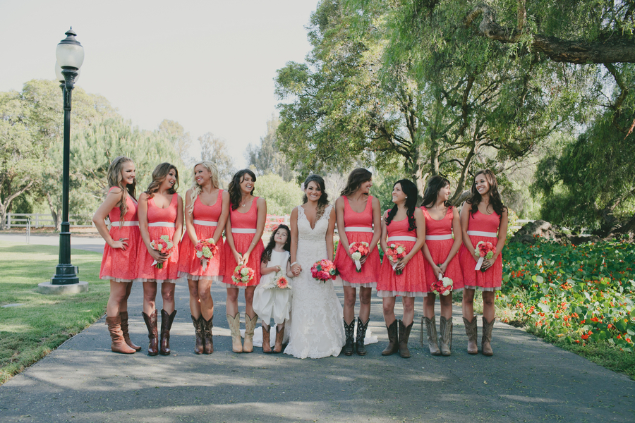 Southern california barn wedding rustic wedding chic for Southern country wedding dresses