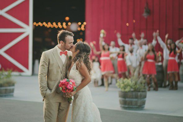 Barn Wedding In California