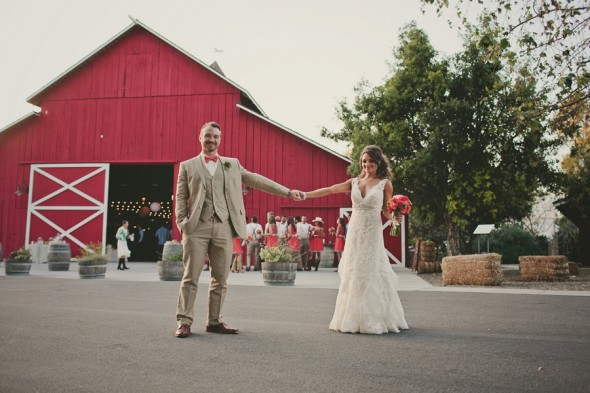 Barn Wedding In California
