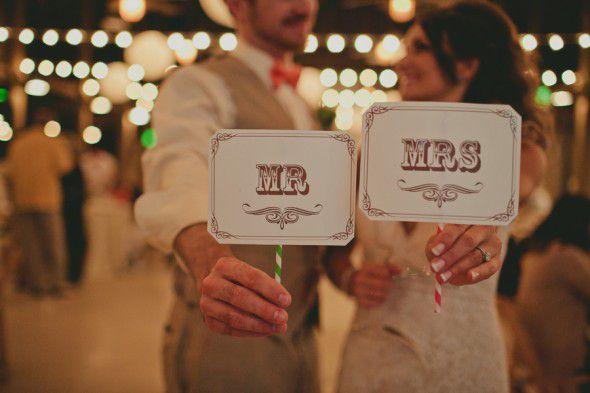 Mr. Mrs. Signs