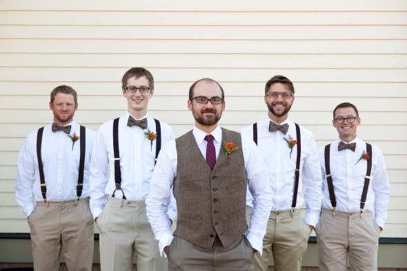 Fall Wedding Groomsmen
