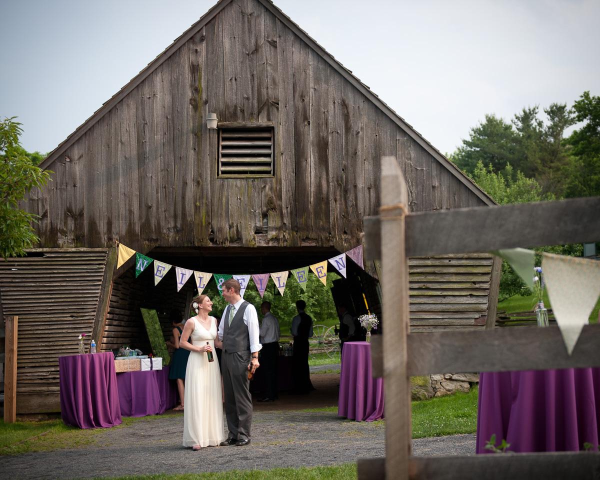 Do It Yourself Style Backyard Wedding Rustic Chic
