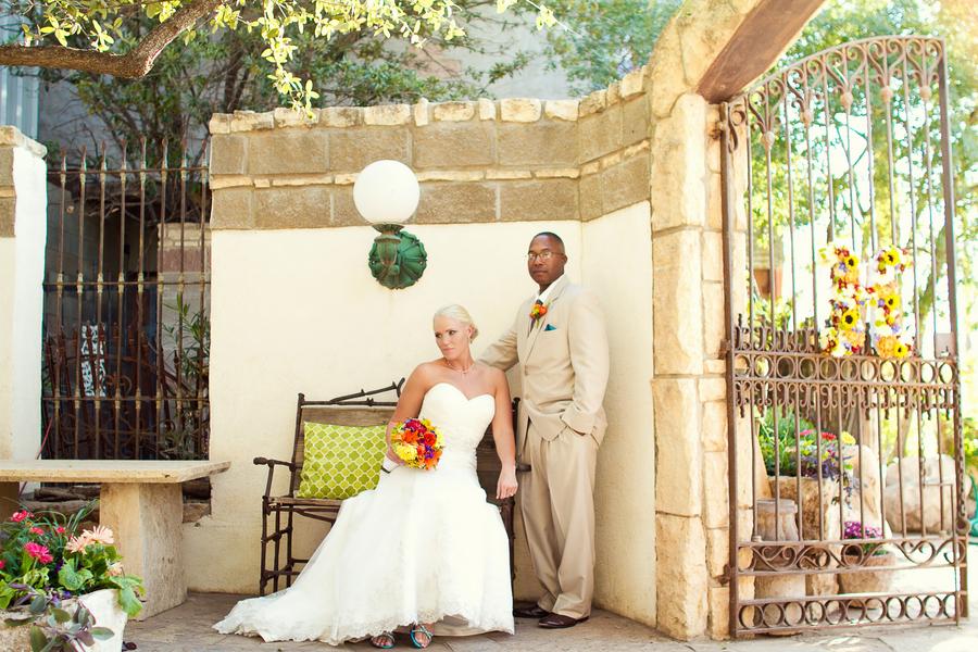 Rustic Midland Texas Wedding