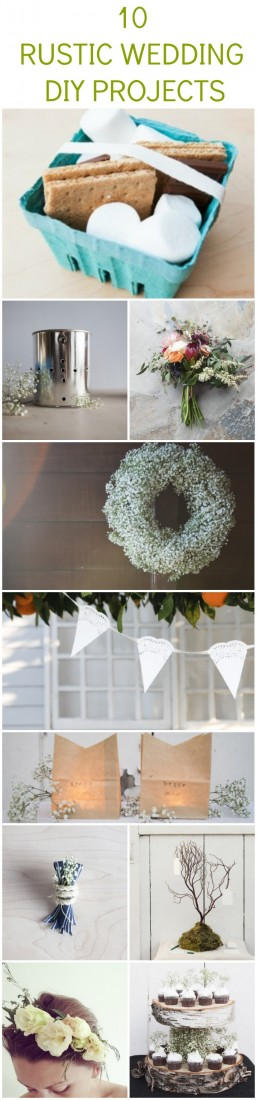 Rustic Wedding Projects To Try