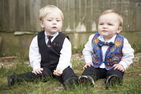 Rustic Wedding Kids