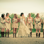 Country Wedding Bridesmaids