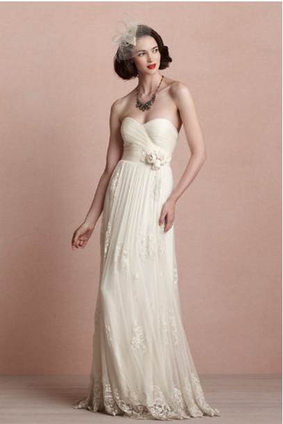 Source BHLDN Rustic Romance Wedding Gown