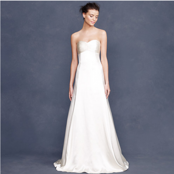 J Crew Wedding Gown