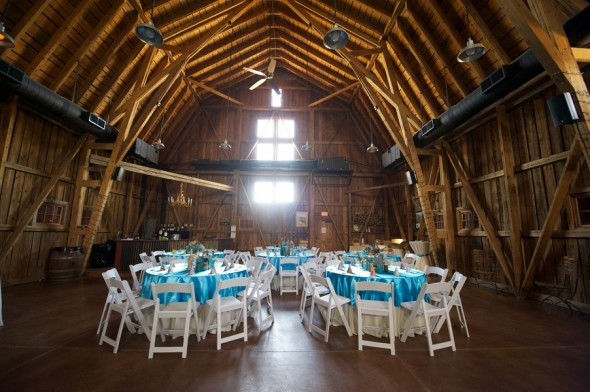 The Windmill Winery Barn Wedding