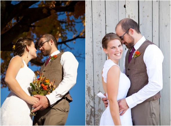 A Rustic Wedding In The Fall
