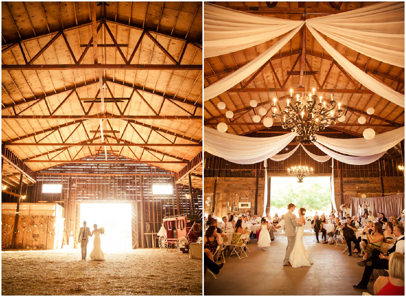 Northern California Barn Wedding