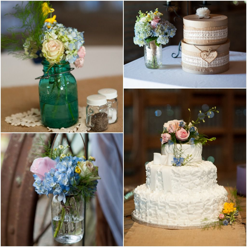 Wedding Decorations: Rustic Country Southern Wedding
