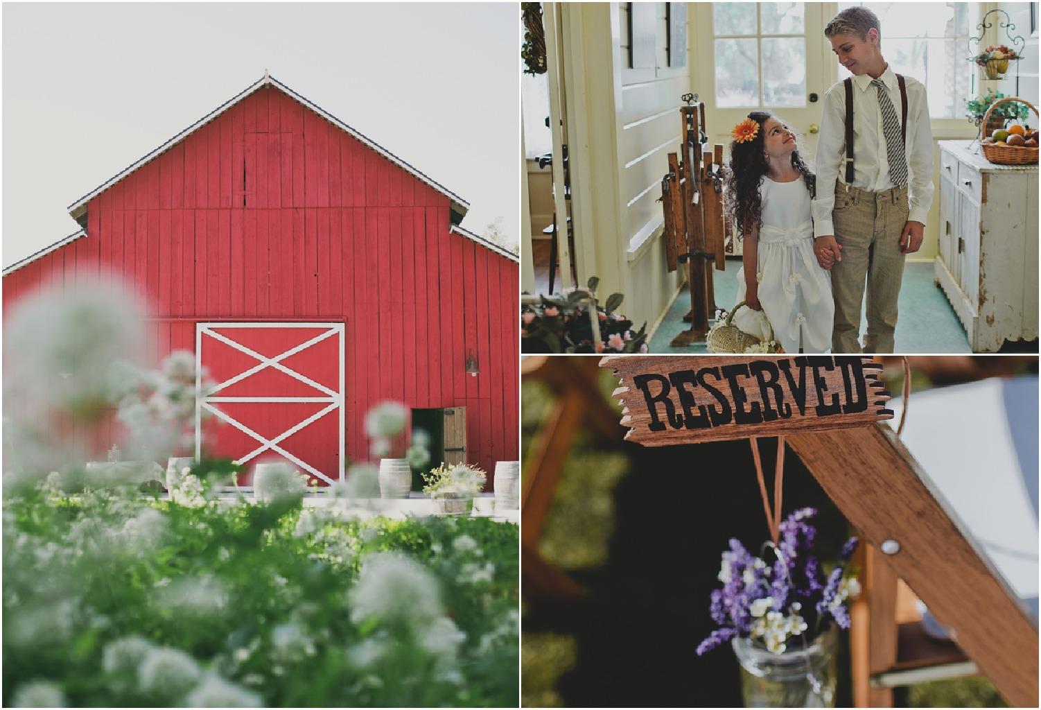 Southern California Barn Wedding - Rustic Wedding Chic