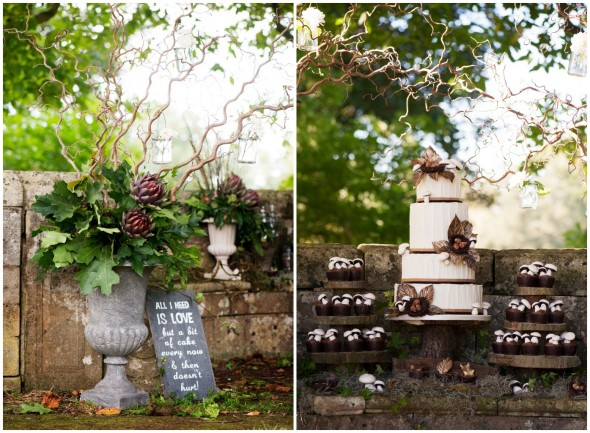 Cake For A Rustic Wedding