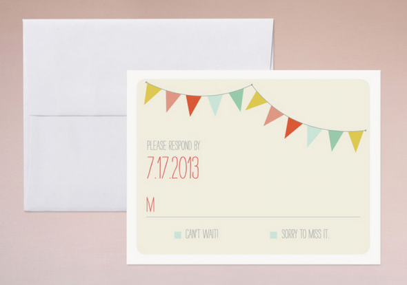 Country RSVP Card