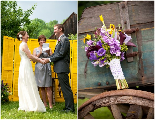 DIY Backyard Wedding