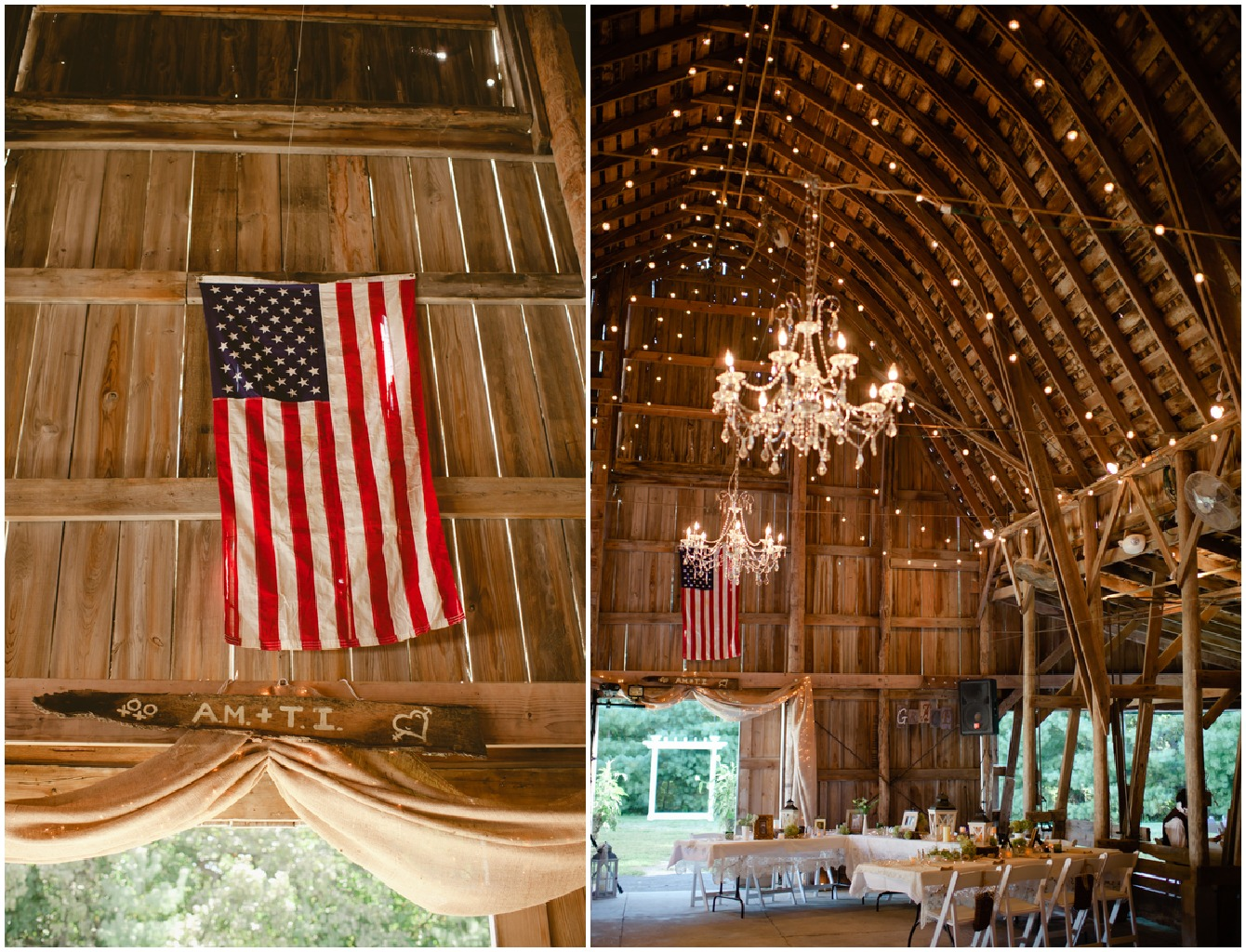 Nebraska Barn Wedding: Ashley + Tyler