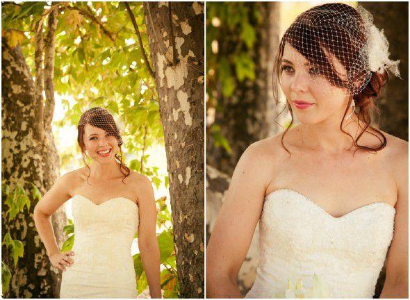 Elegant Rustic Bride