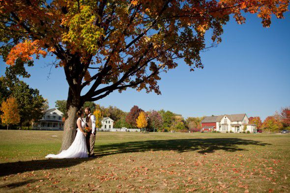 Farm Fall Wedding
