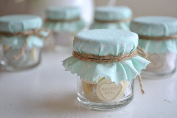 Turquoise Wedding Favor