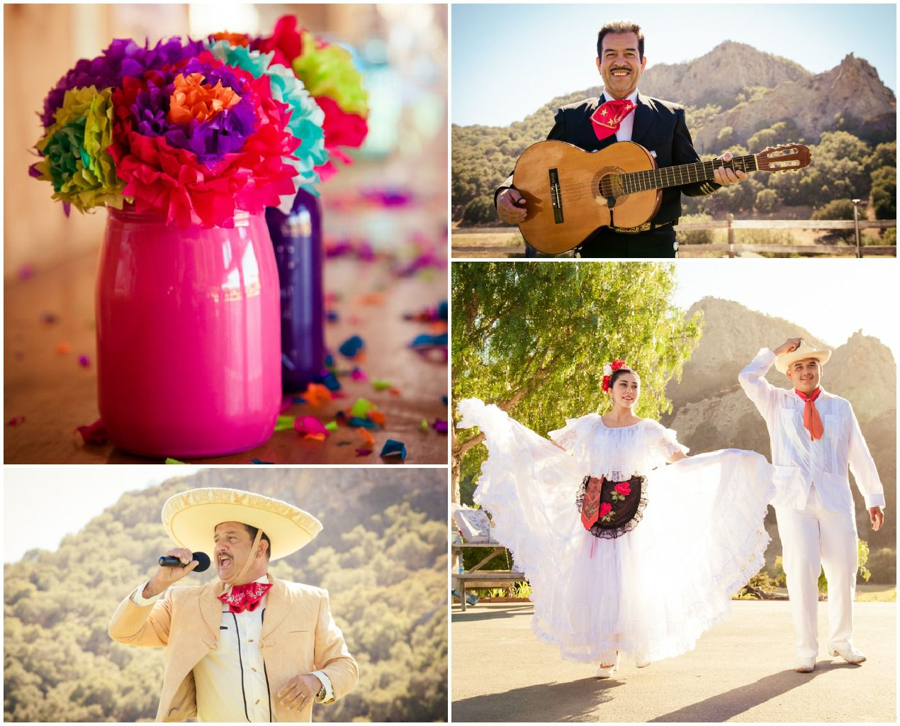 Authentic Mexican Wedding - Rustic Wedding Chic
