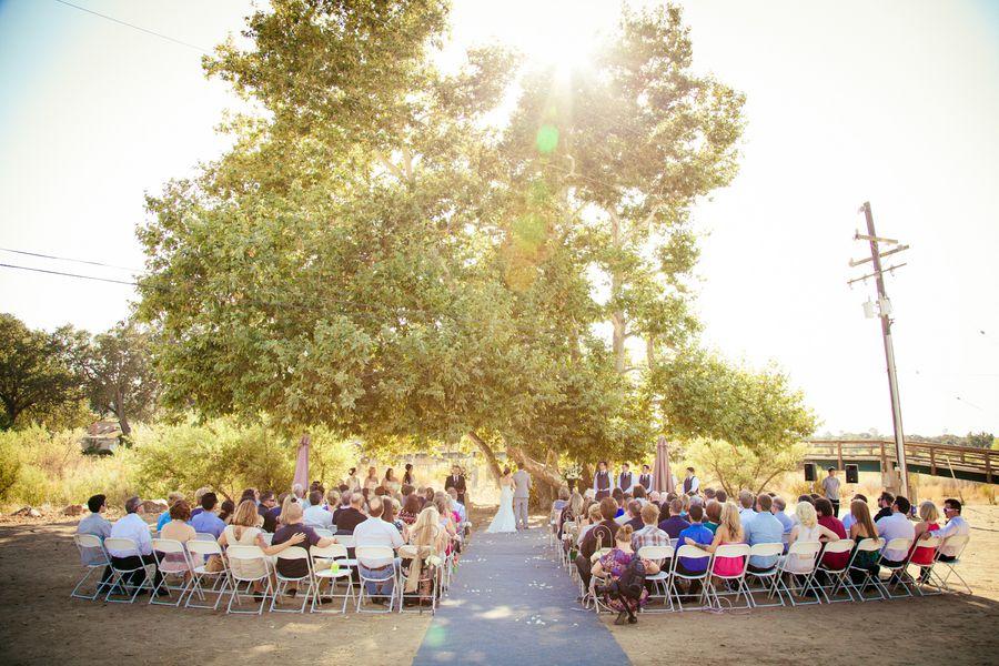 Northern California Barn Wedding - Rustic Wedding Chic