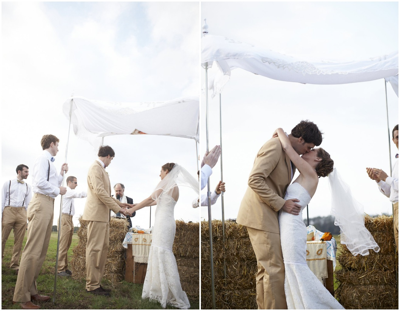 Long island new york barn wedding leslie ben rustic for Outdoor wedding new york