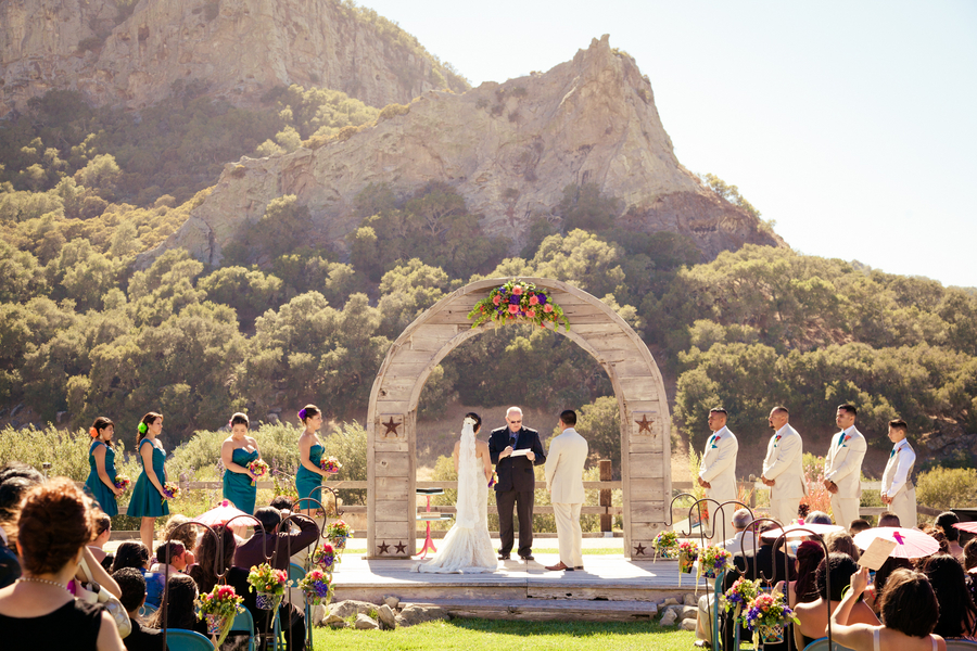 Outdoor Wedding Ceremony: Authentic Mexican Wedding