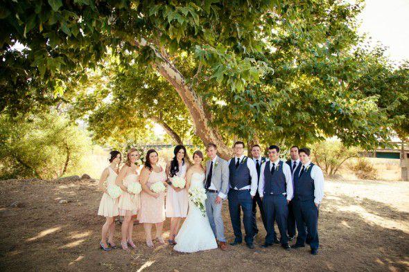 Ranch Wedding Party