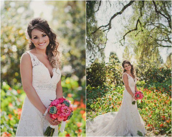 Romantic Rustic Bride