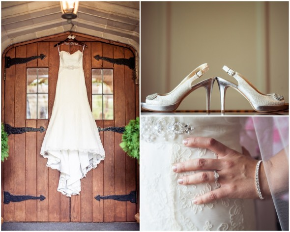 Rustic Chic Wedding Gown