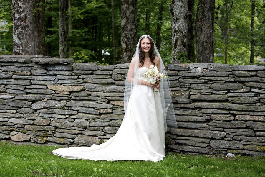 Rustic Vintage Wedding Bride