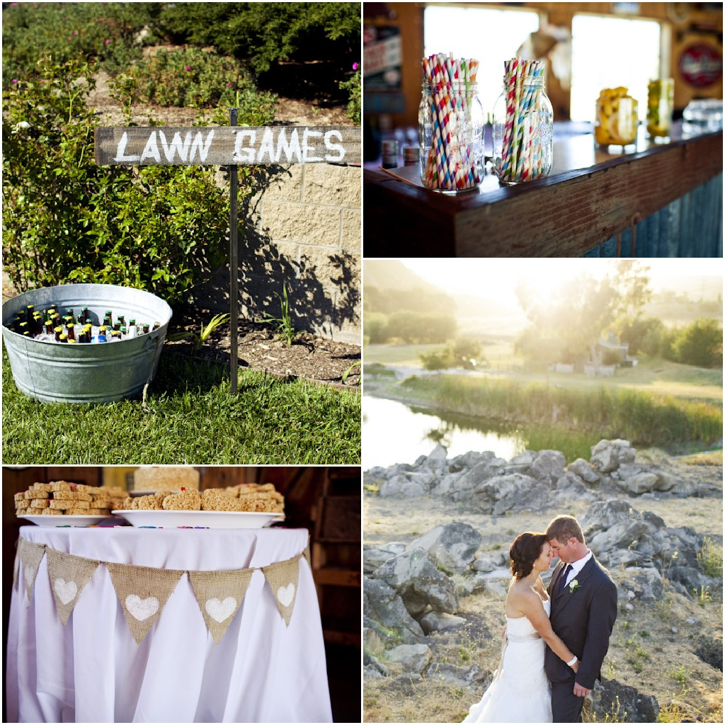 Outdoor Rustic Wedding Ideas: Country California Wedding
