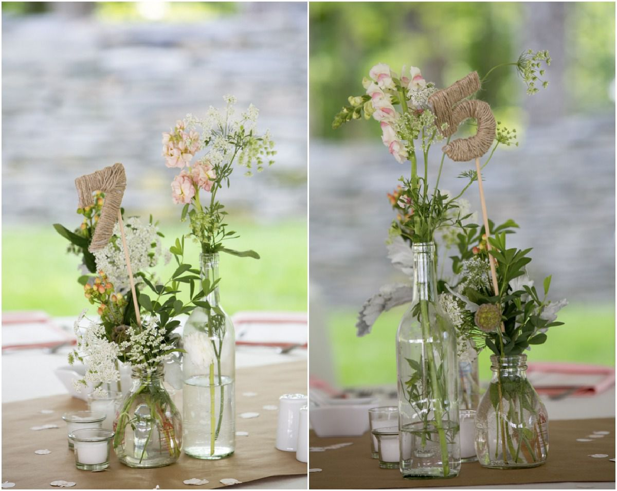 DIY Style Vermont Wedding: Amanda + Colin - Rustic Wedding Chic