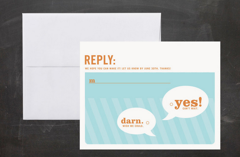 How To Word Rsvp Cards