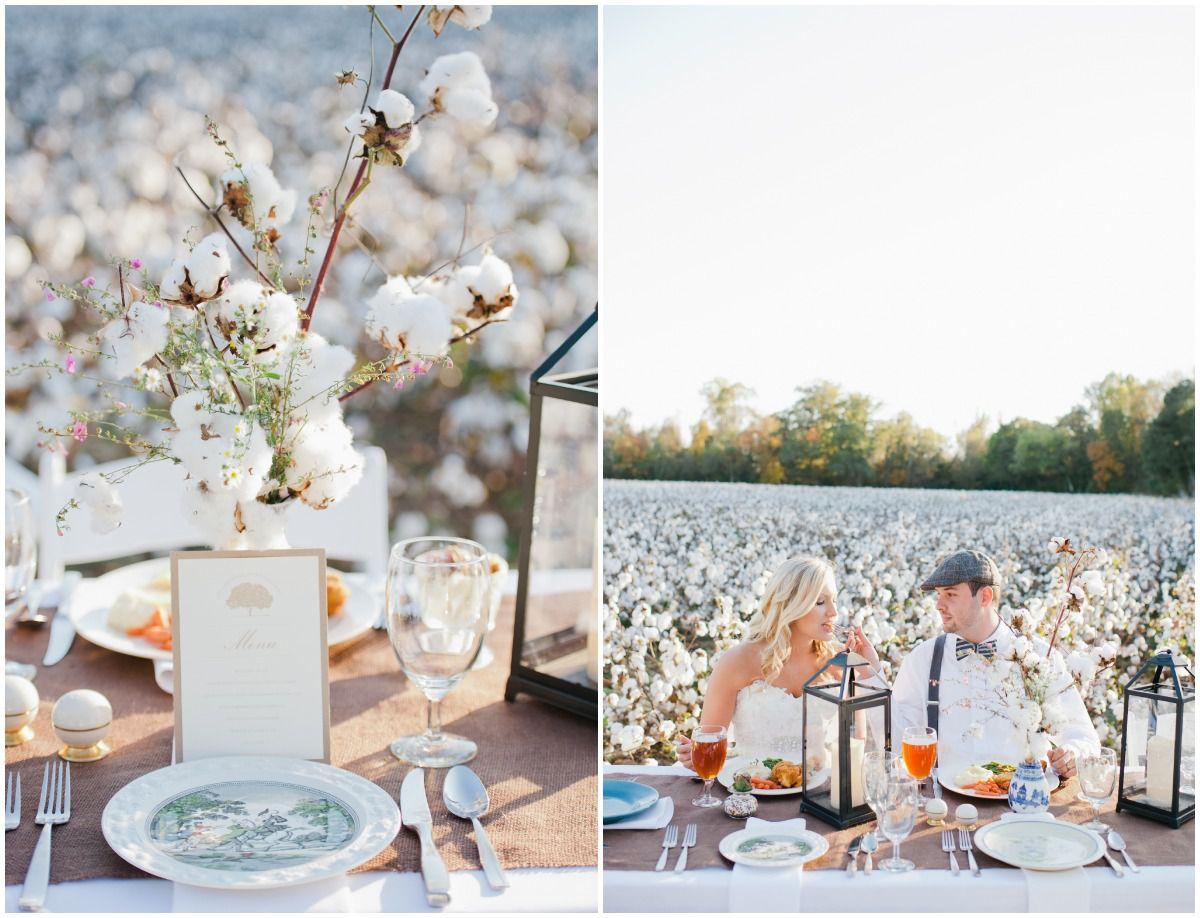 Southern Inspired Wedding Shoot - Rustic Wedding Chic