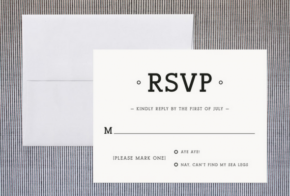 Ways to word your rsvp card