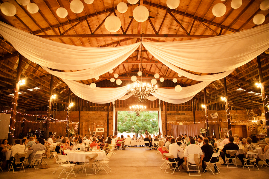 Wedding reception venue decorations on pinterest mason for Wedding venue decoration ideas pictures